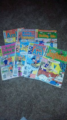 This item is unavailable Archie Comics, Vintage Comics, 1970s, My Etsy Shop, Childhood, Cartoon, Handmade Gifts, Check, Infancy
