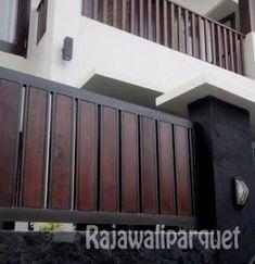 Front Gate Design, House Gate Design, Modern Fence Design, Front Gates, Garden Gates, Patio, Doors, Fence Ideas, Outdoor Decor