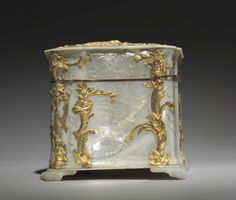 Gold and Mother-of-Pearl Box, 1765