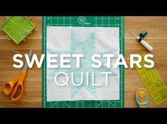 Make an Easy Sweet Stars Quilt Block - Quilt Snips (Missouri Star Quilt Company…