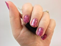 Learn how to use nail stamps to create perfect nail art in less time using patty_o_furniture's tips.