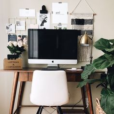 Target Style: My small but functional home office space! #homedecor #workspaceinspo #targetstyle #fiddleleaffig #ssCollective #ShopStyleCollective #MyShopStyle #getthelook