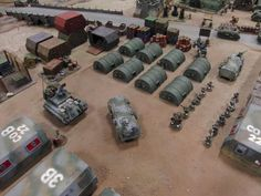 Digits's Drogans - lots of conversions, off the wall ideas and a dose of lunacy! 40k Terrain, Game Terrain, Wargaming Terrain, Model Tanks, Garage Makeover, Military Diorama, Off The Wall, Tabletop Games, Miniture Things