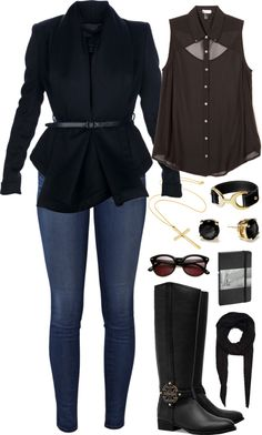 """Cowgirl Chic"" by kamababus on Polyvore"