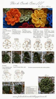 Hoje a postagem é super especial para as amigas que amam crochet!   Eu amo, não tenho nenhuma habilidade com as agulhas, por isso admiro mu...