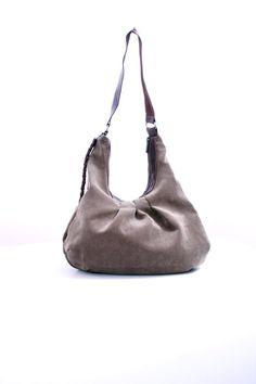 Tote, large canvas bag, shoulder bag, hobo bag Diaper bag dark brown Travel bag