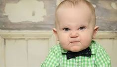 View the Grumpy Baby Becomes Instant Internet Sensation photo gallery on Yahoo. Find more news related pictures in our photo galleries. Ashleigh Brewer, Grumpy Baby, Angry Baby, Mau Humor, 9 Month Old Baby, All Things Cute, Rugrats, Funny Kids, Baby Pictures