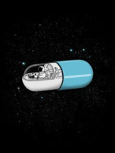 A pill that allows you to temporarily escape your physical being and enter that incorporeal realm behind this reality, the one where the entirety of a person is a boundless room and, unlike our world, the doors are not locked and we can inspect and feel that person beyond just what we peep through the keyhole.