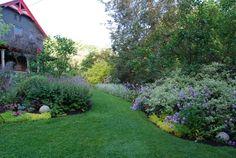 The New York garden of writer Margaret Roach in spring.  Photo by Margaret.