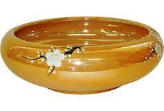 Gold Lusterware Bowl on OneKingsLane.com Noritake, Luster, Tea Pots, Lamps, Ceramics, Crystals, Fun, Gold, Collection