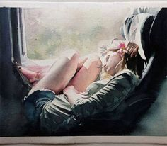 Beautiful watercolor paintings by Brazilian artist Marcos Beccari :http://artpeople.net/beautiful-watercolor-paintings-brazilian-artist-marcos-beccari/