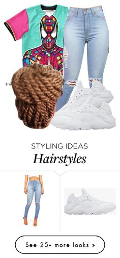 """Untitled #764"" by chynaloggins on Polyvore featuring NIKE"