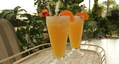 Creamsicle, it's dangerous! Just mix Whipped Cream Vodka (Smirnoff), orange juice, and gingerale (OR Sprite or 7up).