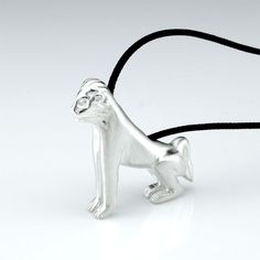 Delos Lion - Silver Pendant   Born in Naxos, lived in Delos, emigrated in Venice. Get to know the story. #lions #Delos #Venice #Mykonos #jewellery #gifts