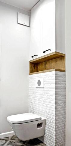 Łazienka: styl , w kategorii Łazienka zaprojektowany przez DW SIGN Pracownia Architektury Wnętrz Interior Design Studio, Bathroom Interior Design, Interior Design Living Room, Interior Colors, Nordic Interior, Cafe Interior, Studio Design, Interior Modern, Luxury Interior