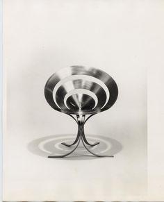 Maria Pergay, Silla Rings chair, 1968