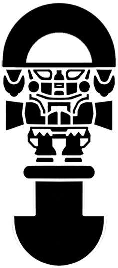 Inca Symbols Tattoo Inca Icon Stock Vector Peruvian Icons