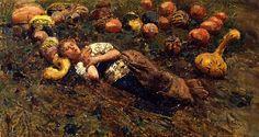 Francesco Paolo Michetti (1851-1929) - 1873-81 Sleeping Young Shepherd (Gallerie di Palazzo Leoni Montanari, Venice, Italy)