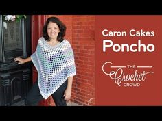 How to Crochet A Poncho: ⛱️ Summer Caron Cakes Poncho - YouTube
