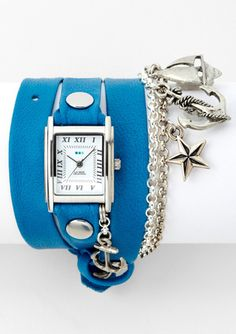 LA MER COLLECTIONS Portofino Triple Wrap Watch