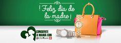 Consiente a mamá con D'Mario   Sitio Web Oficial de Relojes D´Mario - Colombia, Ecuador y Panamá Mario, Ecuador, Paper Shopping Bag, Totes, Happy Mothers Day, Tents, Clocks, Colombia