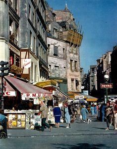 Ervin Marton - Rue Beaubourg - Paris circa 1950