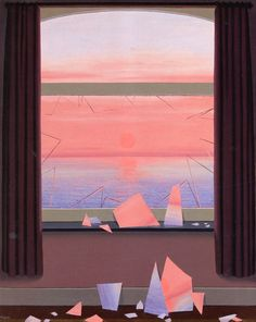 Le monde des images René Magritte (1961) Private collection Painting - oil on cardboard