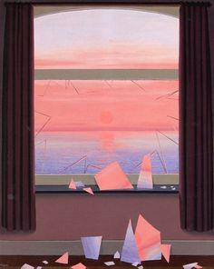 René Magritte - Le Monde des Images, c. 1961 Rene Magritte  ( 1898 - 1967 ) More At FOSTERGINGER @ Pinterest
