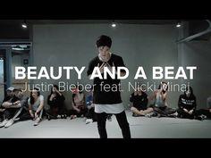 Beauty And A Beat - Justin Bieber ft. Bongyoung Park, Justin Bieber Ft, 1million Dance Studio, Dance Choreography, Best Dance, Nicki Minaj, Beats, Music, Youtube