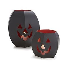 Pumpkin Lanterns from Crate and Barrell