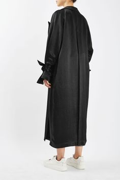 Satin Duster Coat by Boutique