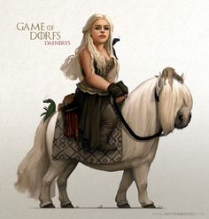 Game of Dorfs: Awesome Digital Painting of GOT Characters Series by Sam Hogg Like Us on Facebook