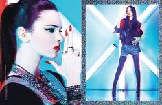 Kendall Jenner for  BLANK Magazine   October/November  2012