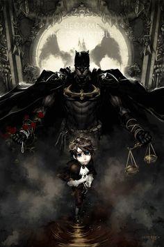 Batman by T.J. Geisen on artstation