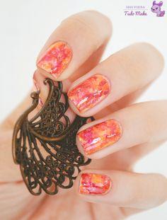 Foto tutorial | Autumn nail art