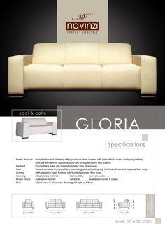 gloria Sofa, Couch, Polyurethane Foam, It Is Finished, Cool Stuff, Furniture, Home Decor, Settee, Settee