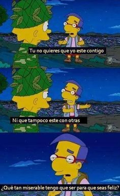 Awesome and funny photos and gifs from The Simpsons. Funny quotes and scenes from The Simpsons episodes over the years. The Simpsons, Simpsons Funny, Simpsons Episodes, Simpsons Characters, Simpsons Frases, Simpsons Quotes, Friendzone, You Dont Want Me, Be With Someone