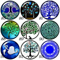 Noosa style Tree of Life snap charms also fits by BeaditBracelets