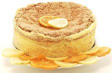 passover cake. citrus
