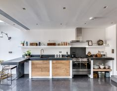 Paper House Project specified Lazenby's superior quality concrete pre-cast worktops and sink, cast in-situ step and polished concrete floors. Internal and external basalt satin concrete features were chosen for this masterful refurbishment. Simon Maxwell Photography shows off the captivating beauty of Lazenby's polished concrete. For more information about Lazenby's exceptional product range, and high quality service and customer care …