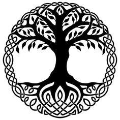 Wikinger Symbole, nordische Runen und ihre Bedeutung als Tattoos – Dekoration Ha… Viking symbols, nordic runes and their meaning as Norse Tattoo, Fenrir Tattoo, Yggdrasil Tattoo, Viking Tattoos, Celtic Tree Tattoos, Viking Tattoo Symbols, Viking Symbols And Meanings, Norse Mythology Tattoo, Wiccan Tattoos