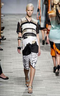 @Missoni  Milan Fashion Week Spring Summer 2014