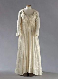 Early regency gown