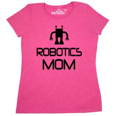 e4ae6f9bb Robotics Mom team gift Women's T-Shirt for a mother with kids who build  robots