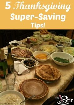 SCORE! How to make Thanksgiving dinner for just $5 per person! http://thestir.cafemom.com/food_party/164428/make_a_delicious_thanksgiving_dinner?utm_medium=sm&utm_source=pinterest&utm_content=thestir