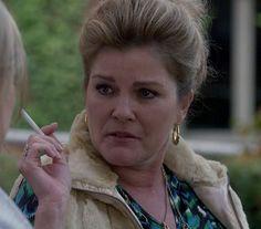Smoking Kate! Kate Mulgrew..