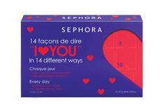 Calendario del Amor, de Sephora Calendario de adviento para empezar a celebrar San Valentín mucho antes de que empiece. Cada ventanita contiene una bola de aceite de baño con forma de corazón para disfrutar, si es posible, en pareja.