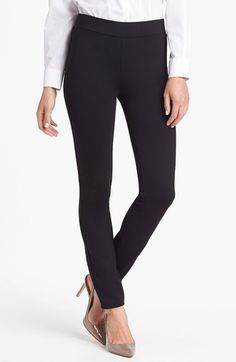NYDJ Stretch Ponte Leggings (Regular & Petite)   These are the legging pants that you like
