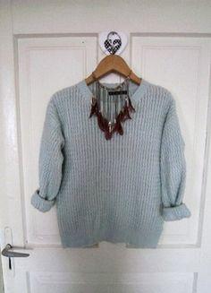 Pastelowy sweterek M 38