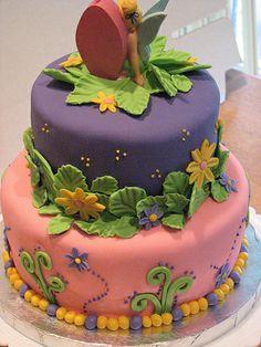 tinkerbell cake | Tinkerbell Cake-Back